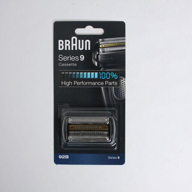 BRAUN Series 9 Cassette 92B 9242s, 9260s, 9280cc, 9290cc, 9291cc V_s