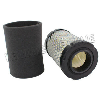 Fuel Li 796031 Air Filter with Tune Up Kit for Briggs /& Stratton 591334 594201 797704 Engine