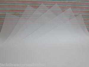 20 Blätter X A3 Pergament Lichtdurchlässig Verfolgung Papier 83gsm