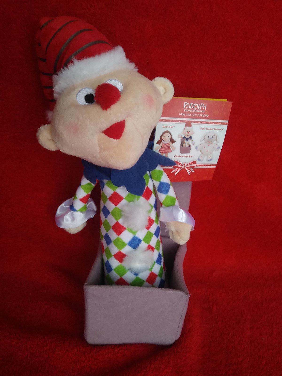 CHARLIE 10  Plush Build A Bear 2010 rudolph misfit toys NEW