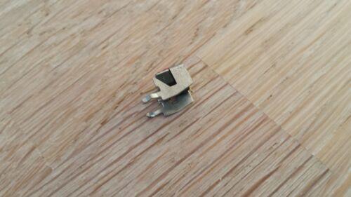plus plat pression-Pin Set 5x micro-mini boutons poussoir normalement ouvert debout environ 7x7x7mm rouge