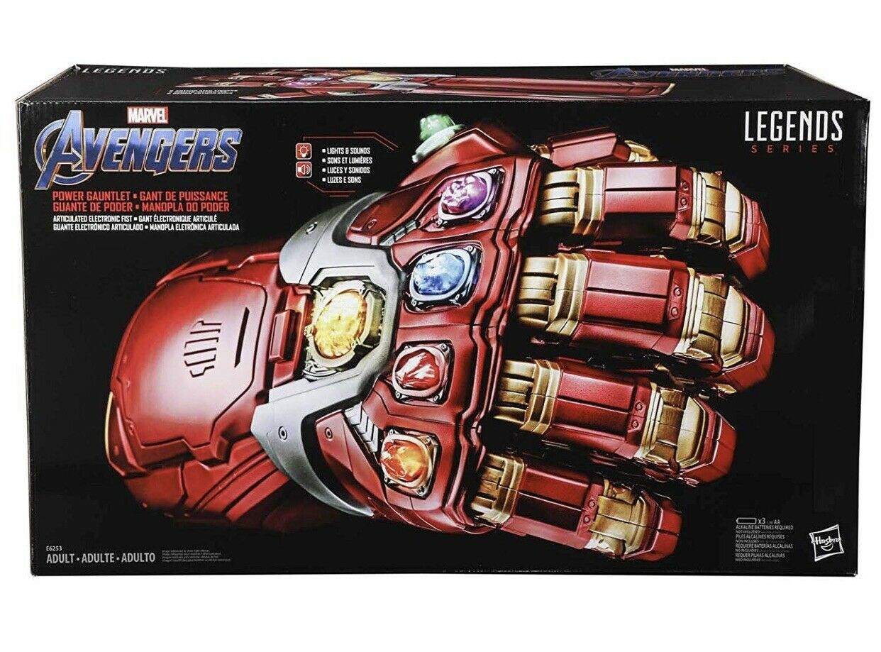 Marvel Legends - Endgame Power Gauntlet - Iron Man - Hulk - On Hand