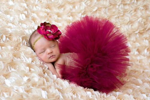 Newborn Baby Girl crochet tricot Tutu Jupe Costume Photographie Photo Prop Outfits