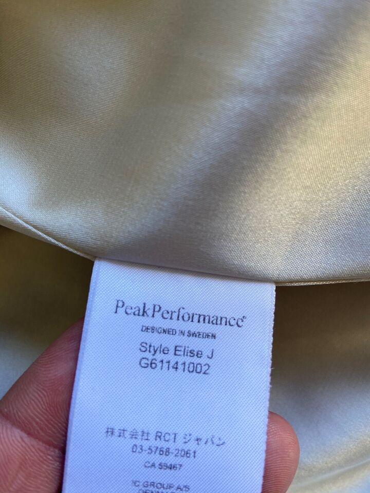 Pels, str. 34, Peak performance xs