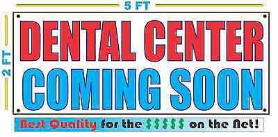 DENTAL CENTER NOW OPEN Advertising Vinyl Banner Flag Sign LARGE HUGE XXL SIZE
