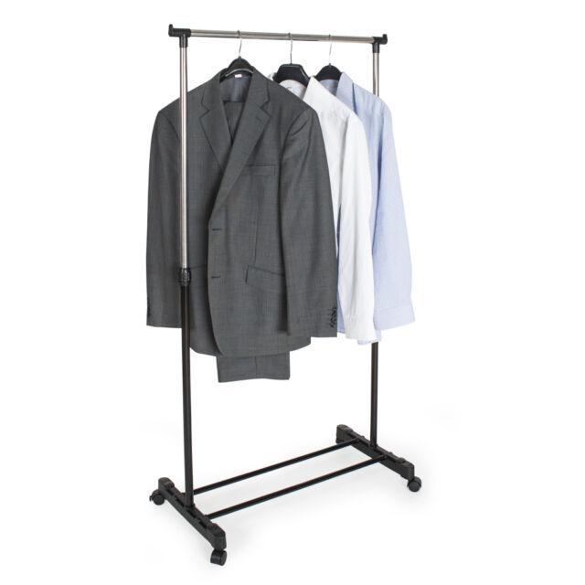 Tectake Valet De Chambre Sechoir A Linge Telescopique Garde Robe