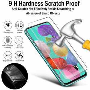 9H Hard Screen Protector Glass For Samsung Galaxy S6 S7 J3 J5 J7 S20 FE A72 A52