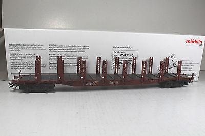 Ep IV   Neuware DB Märklin H0 4771 Rungenwagen
