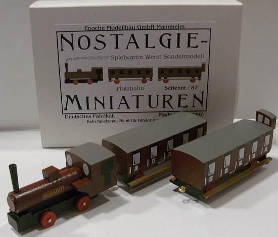 Epoche 62011 Nostalgie Pfalzbahn-Set Sondermodell Spielwaren Werst  | Schöne Farbe