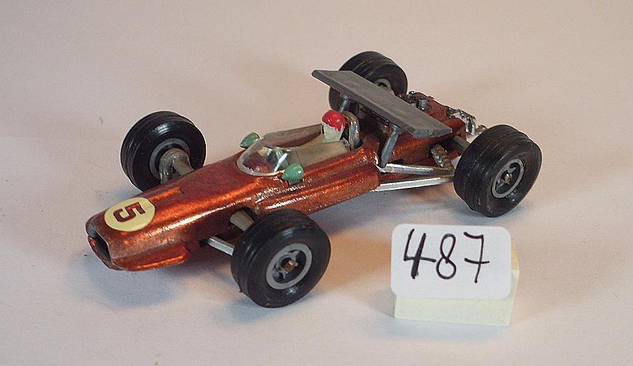 Majorette 1 65 no 229 Ferrari f1 Racer Copper Metallic number 5