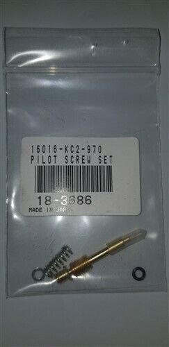 Honda 89-90 NX250 80-81 CB400T CM400A K/&L Carburetor Mixture Screw Set 18-3686