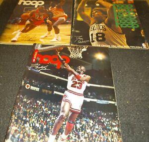 Official-NBA-Program-Magazine-Hoop-Michael-Jordan-Bulls-Charles-Barkley-Bird-Lot