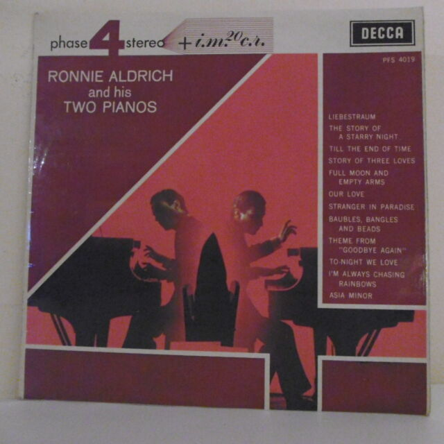33T Ronnie ALDRICH and his TWO PIANOS Disk LP 12