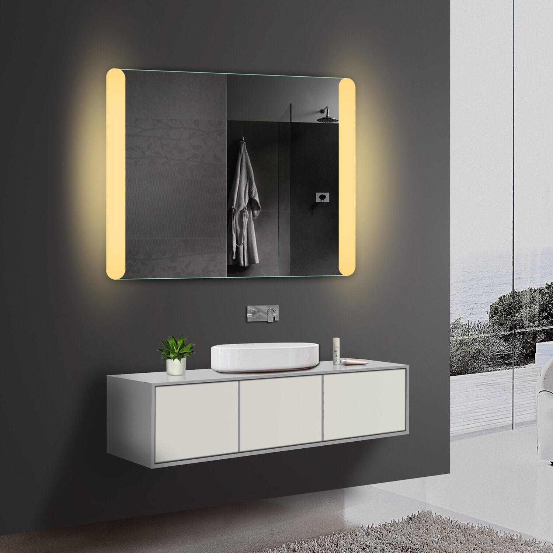 Led Beleuchtung Badezimmerspiegel Badspiegel Wandspiegel Kalt Warmweiß Blautooth