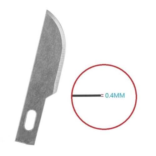 10pcs #10 Replacement Hobby Classic Fine Point Blades high steel Craft Cutters
