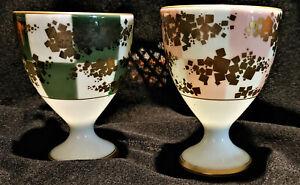 VINTAGE-SET-OF-2-TEA-WINE-CUPS-KORANSHA-PORCELAIN