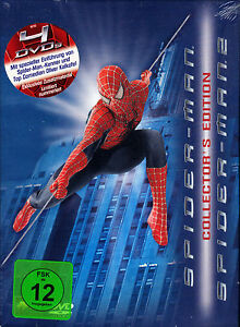 Spider-Man - Collector`s Edition (2004) - 4 DVD´s - Limited Edition - neu & ovp