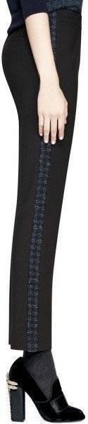 Tory Burch frente plano Negro De  Mujer Pantalones Talla 10 Nuevo Vestido Tobie  estilo clásico