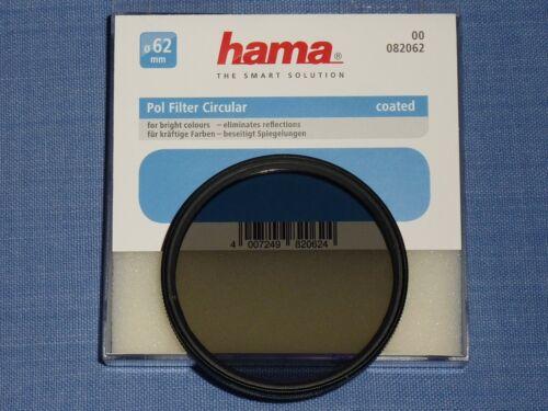vergütet Hama polarizador circular Coated 62mm e62