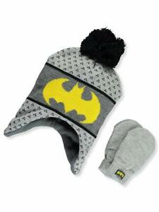 Transformers Bumblebee Winter Hat Gloves Beanie Gloves SET Kids Boys Toddler