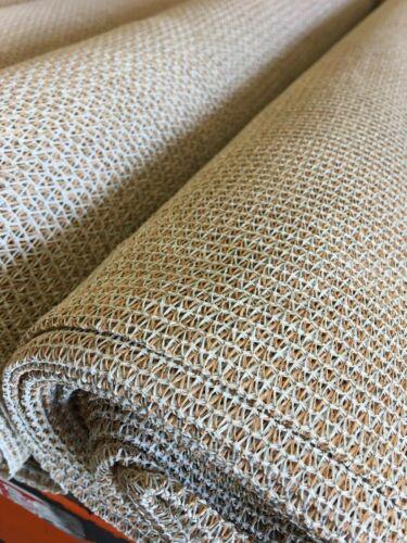Sun Screen Shade Fabric Saddle Tan 6/' x Multiple Lengths SECONDS FREE SHIPPING