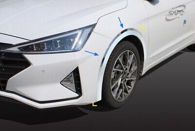 Chrome Bonnet Protector Molding For Hyundai Elantra 2019+