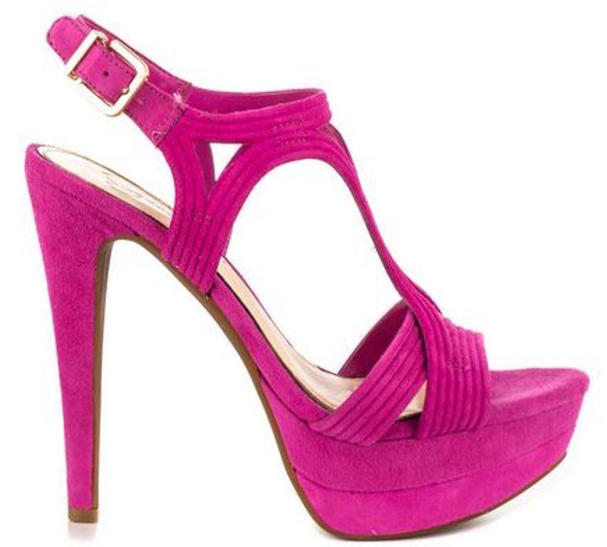 Women shoes Jessica Simpson SALEMM Platform Heels Straps Sandal Twilight Magenta