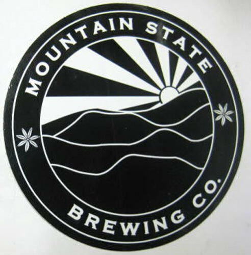 WEST VIRGINIA LABEL 4 inch Beer STICKER Thomas MOUNTAIN STATE BREWING Co.