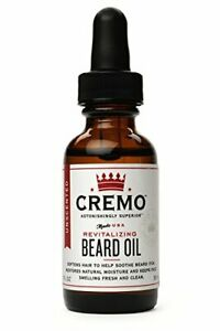 Cremo-Unscented-Revitalizing-Beard-Oil-1oz-Pack-of-1
