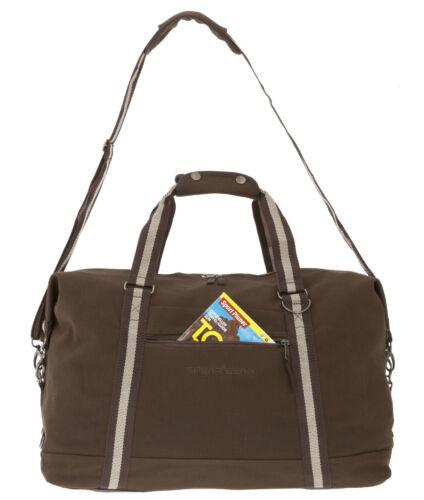 Valija Spear Gear Traveller canvas canvastasche bolso bolso deportivo marrón