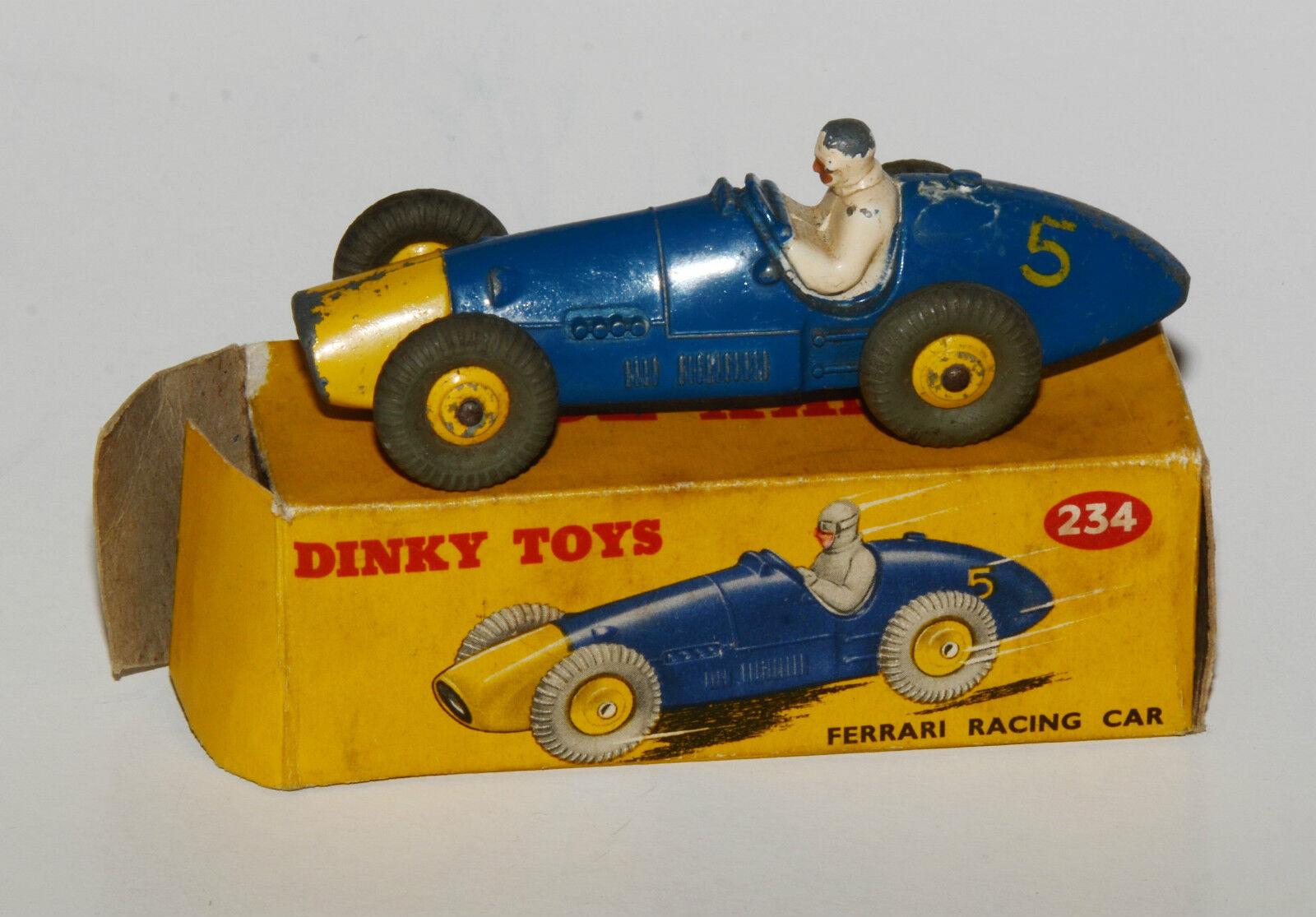 DINKY TOYS nº 234 ou 23 H-ferrari racing car dans emballage d'origine