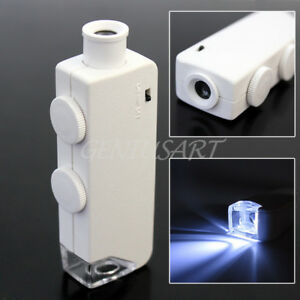 Handheld-160X-200X-LED-Lighted-Pocket-Microscope-Magnifier-Magnifying-Loupe-New