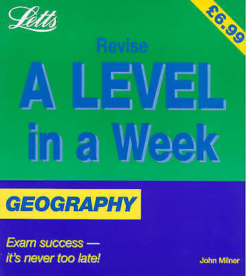(Good)-Geography (Revise A-level in a Week S.) (Paperback)-Milner, John-18575892