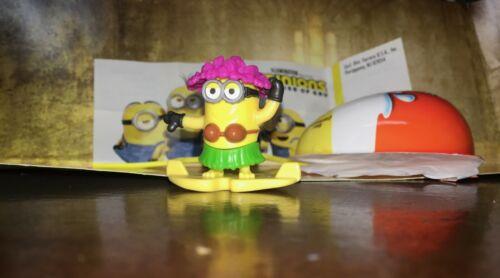 Kinder Joy Minion The Rise Of Gru Surprise Egg Hula Kevin
