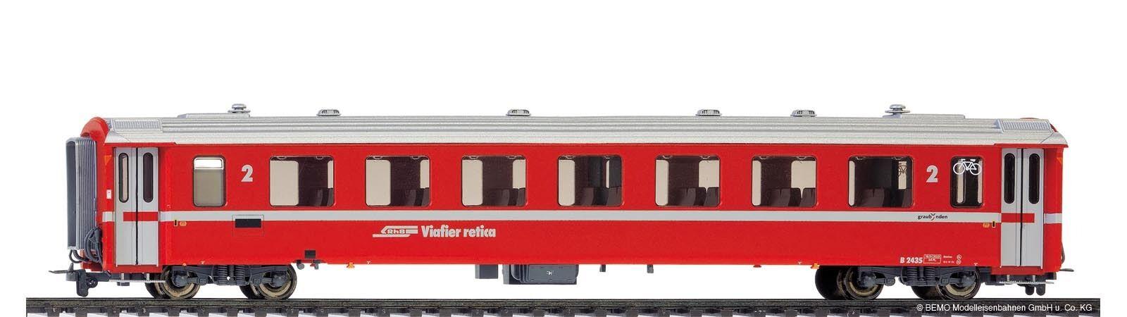 BEMO 3240 162 o 3240162 unità carrello II RHB B 2432 rosso traccia h0m