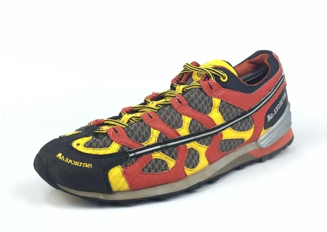 "RARE La Sportiva ""Slingshot"" Men's Multicolor Running Hiking Trail shoes Size 12"