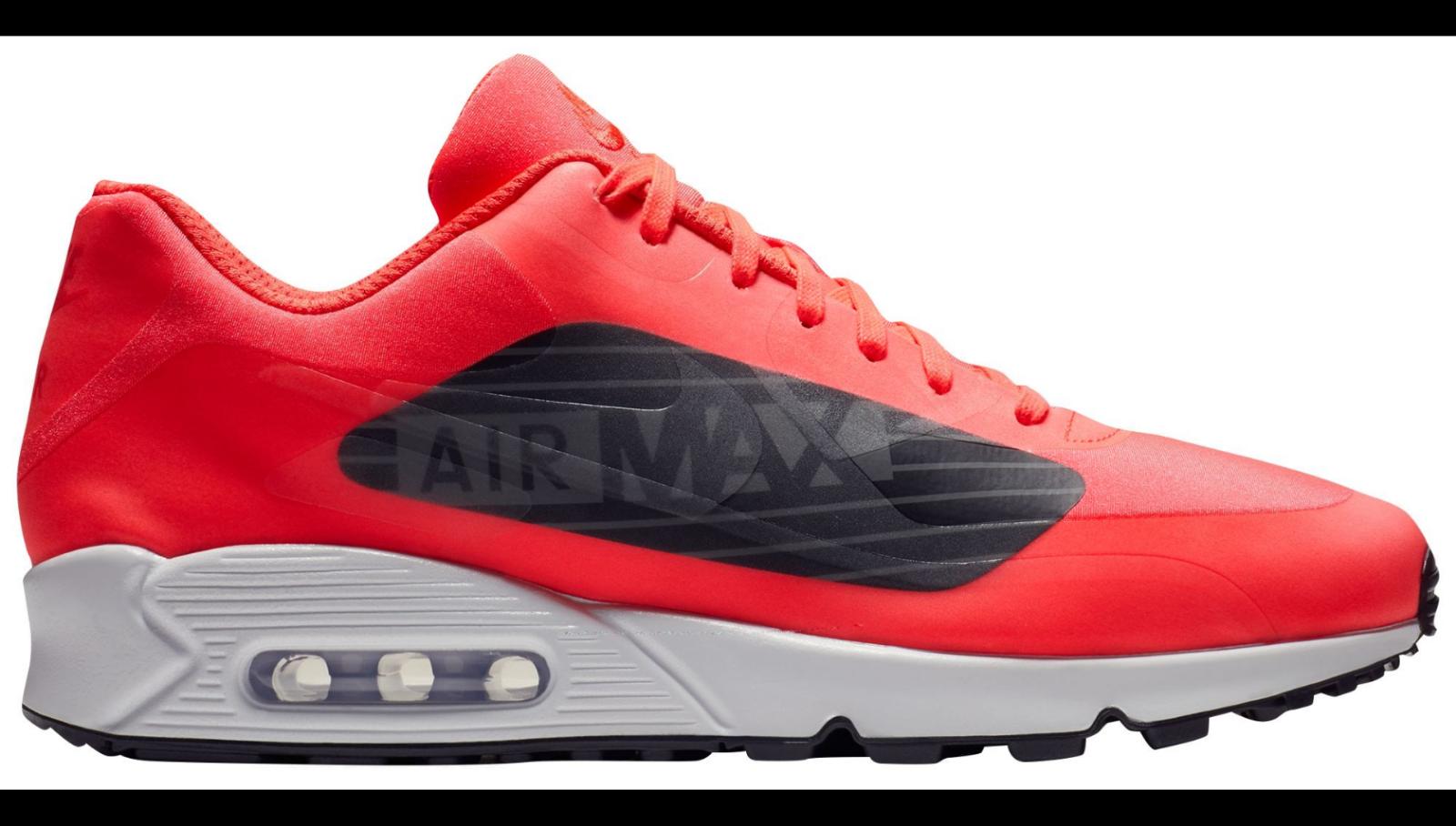 Nuevo en caja Nike para hombre 11.5 11.5 11.5 Air Max 90 NS GPX AJ7182 600 carmesí Zapatillas 150 Nuevo 65ae31