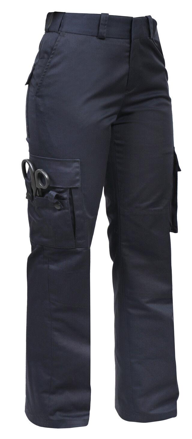 Damen 9 Tasche Taktisch Ems Dukles Marineblau Blau Emt Medic Uniform Hose Rothco   Ausgezeichnete Qualität