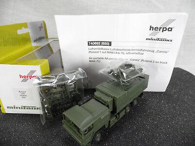 Roco Herpa 740661 Munitionstra field artillery ammo M992 Minitanks NEU ht347
