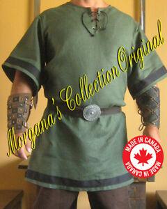 Medieval Celtic Viking Long Sleeves Shirt Plain