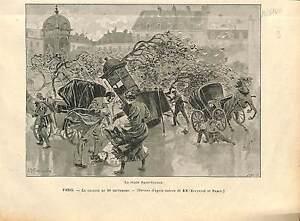 Place-Saint-Sulpice-Tornade-10-septembre-1896-Paris-FRANCE-GRAVURE-1896