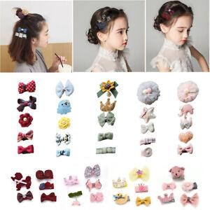 5Pcs-Set-Baby-Girls-Boutique-Head-Clips-Hair-Bows-Crown-Princess-Bobbles-Gift