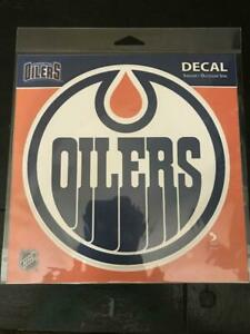 Edmonton Oilers 7 Inch Round Adhesive Decal (New) Calgary Alberta Preview