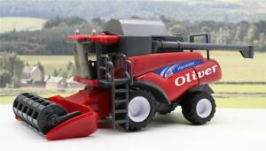 PERSONALISED-NAME-Gift-Red-Combine-Harvester-Farm-Toys-Boys-Toy-Present-Boxed