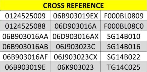 AUDI A3 A4 A6 TT 1.6 1.8 2.0 TFSI FSI QUATTRO 2000-14 PETROL NEW 140A ALTERNATOR
