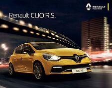 Renault Sport Clio R.S. 10 / 2015 catalogue brochure Autriche Austrian RS Trophy