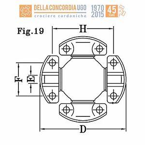 CROCIERA-CARDANICA-206-32x15-85x49-2x174-6-Komatsu-CR-610