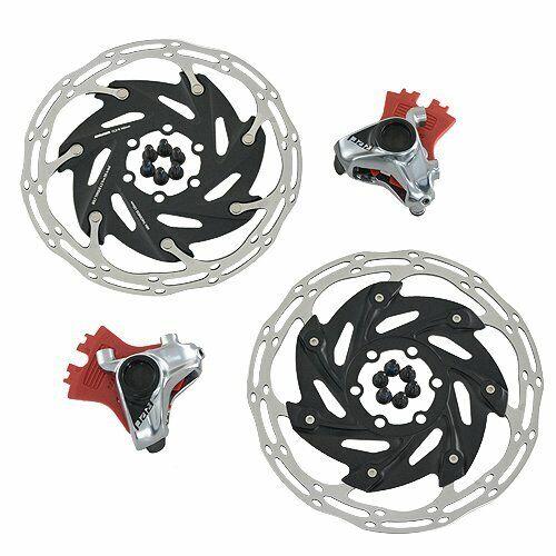 SRAM rosso AXS Flat Mount Hydraulic Disc Brake Set 160mm wrossoor davantiRear