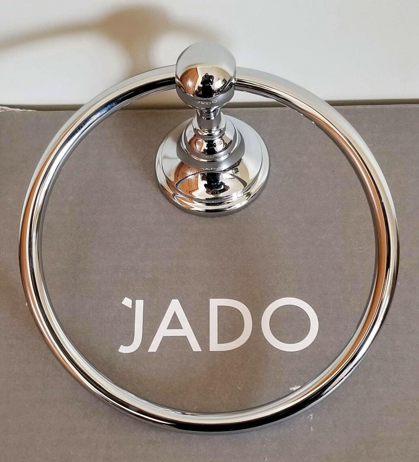 Jado Hatteras 6 inch Towel Ring 042/150/100 Polished Chrome