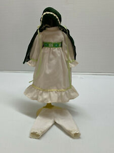 Antique-Vintage-Style-3-pc-Vintage-Child-Style-Doll-Dress-Fashion-for-8-034-doll